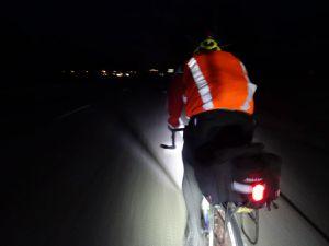 PBP 3/4  - BRM 400 km - La nuit provençale