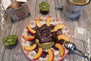 Bowl cake au son d'avoine et pomme