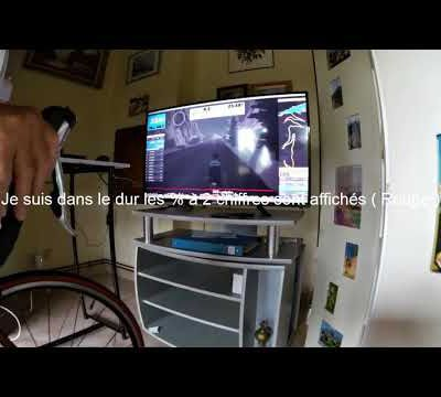 Ma participation à la course de l'Alpe du Zwift