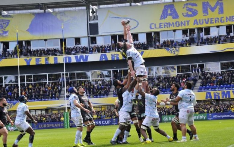 ASM Clermont / Racing 92 (Champions Cup) ce samedi sur France 2/3 et beIN SPORTS !