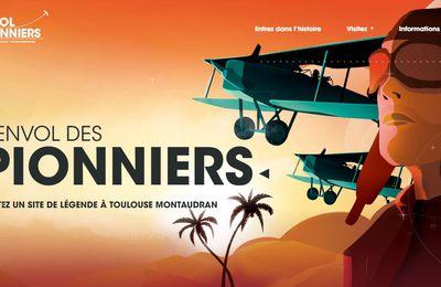 """L'ENVOL DES PIONNIERS - EXPOSITION """"ANTOINE DE SAINT EXUPERY UN PETIT PRINCE PARMI LES HOMMES"""