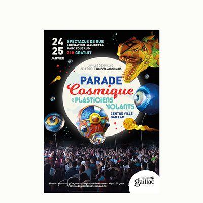 Gaillac célèbre le nouvel an chinois avec la parade cosmique des Plasticiens volants