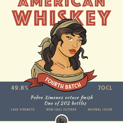 American Whiskey - 3006 I.B. Fourth Batch