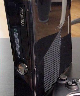 Voici une photo de la nouvelle XBox 360