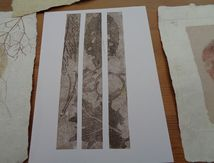 Stage papier , lino monotypes