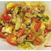 Salade thon avocat & compagnie - www.sucreetepices.com