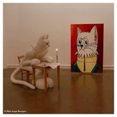 Le chat selon Séchas - Images du Beau du Monde
