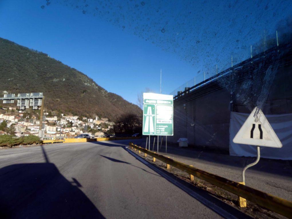 Retour sur les routes janvier 2021, direction Maroc