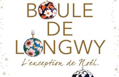 Des boules de Noël en émaux de Longwy