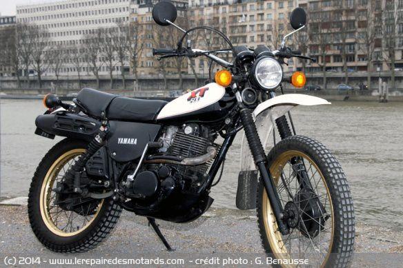 La Yamaha XT 500 a 40 ans