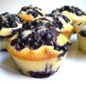 Les muffins aux myrtilles du goûter - Le blog de fannyassmat, le quotidien d'une assistante maternelle en mille et une anecdotes