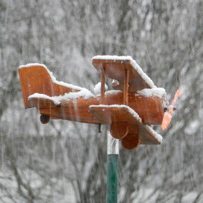 Il neige sur Bais!