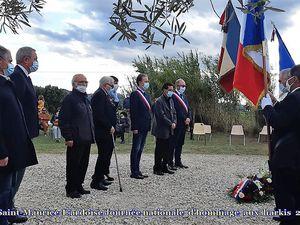 Nîmes, Saint-Maurice-L'ardoise, Château Lascours (30) Journée nationale d'hommage aux harkis 25-09-2020