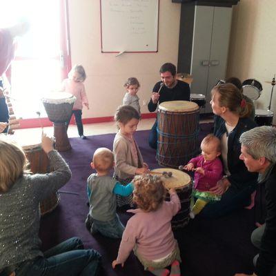Ateliers musicaux pour les tout-petits