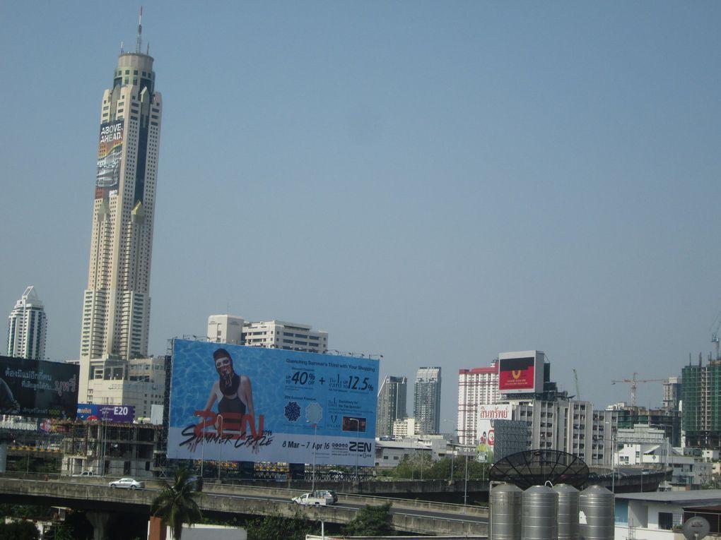 Voyage en Thaïlande.....  Bangkok, la Venise orientale.