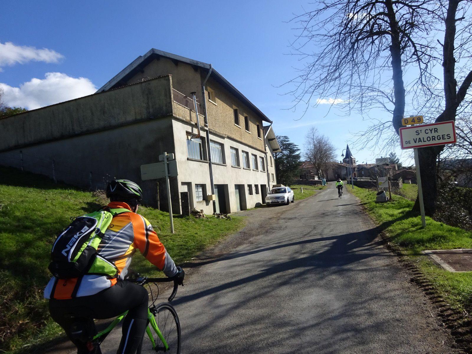 St Clément sur Valsonne - Promeneurs -  Mercredi 17 février 2021