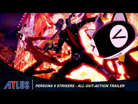 [ACTUALITE] Persona 5 Strikers - Un tout nouveau trailer All-Out-Action