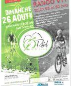 Rando VTT Raid Vallee Poupet ( nouveau 80 kms), St Malo du Bois (Sortie VTT du 26/08/2018 / Ref. : 55022)