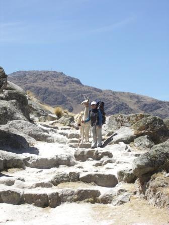 photos de toute la famille durant notre traversee du Qollasuyu
