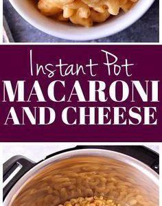 Instant Pot Mac and