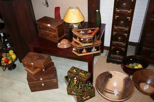 Objets artisanaux de Cote d'Ivoire