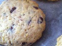 Cookies aux pépites de chocolat noir équitable  à la pointe de Fleur de Sel