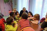 Les petits en visite aux Coquillotes