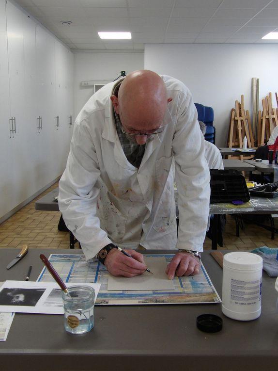 L'atelier peinture du 19 novembre