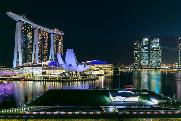 VoloPort Singapore outside