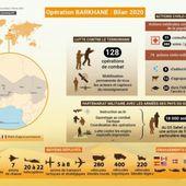 Barkhane 2020, c'est aussi 10 soldats français qui ont perdu la vie au Sahel
