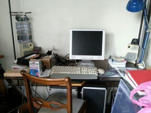 Meuble sur bureau