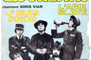 Les Charlots chantent Boris Vian - J'suis snob - 1969