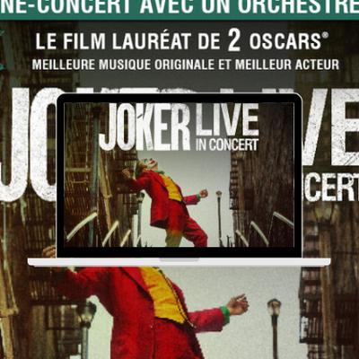 Joker en Ciné-concert | la tournée 2022