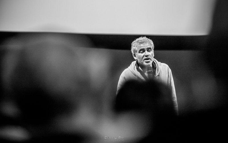 """9 juin - Stéphane Brizé est venu présenter son dernier film """"en Guerre"""" avec Vincent Lindon"""