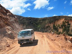 De Pocoata à Sucré (Bolivie en camping-car)