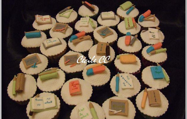 Cupcakes retraite...