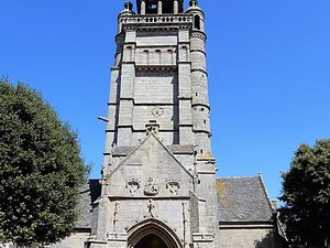 Eglise Notre Dame de Croaz-Batz, Roscoff, Bretagne en camping-car