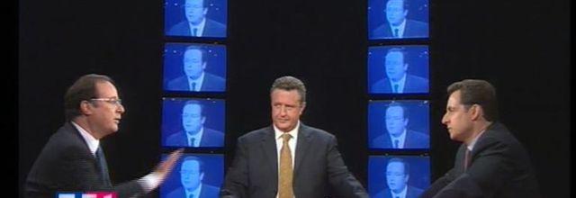 LCI rediffuse le 1er débat entre Nicolas Sarkozy et François Hollande