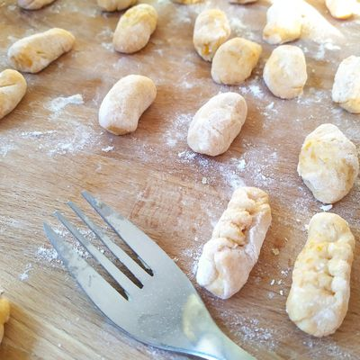 Butternut gnocchis