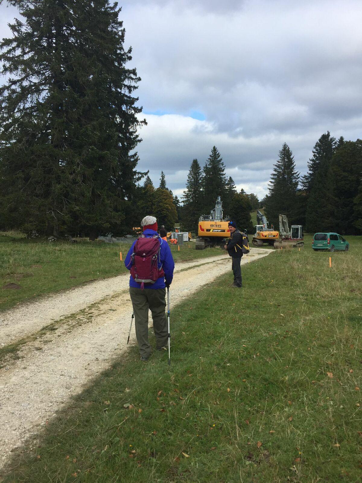 Mardi 12 octobre : Col des Etroits . col de l'aiguillon