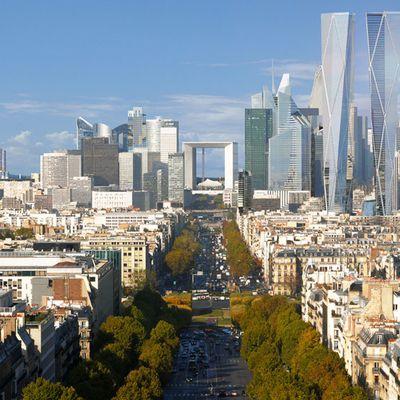 De nouvelles tours parisiennes surprenantes
