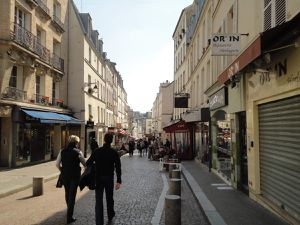 rue Mouffetard in Paris