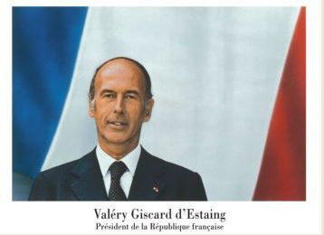 VALERY GISCARD D'ESTAING (3/6 )