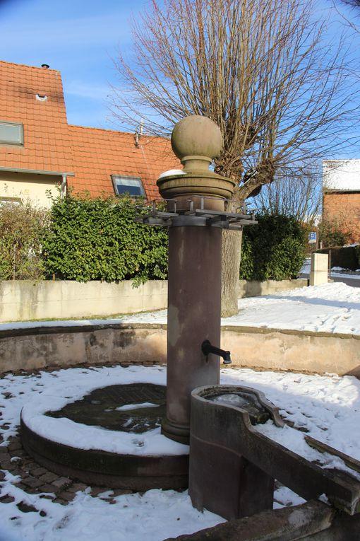Lavoirs de Zehnacker, Gottenhouse et Scharrarbergheim