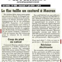 Où est planqué le patrimoine de Macron, suite