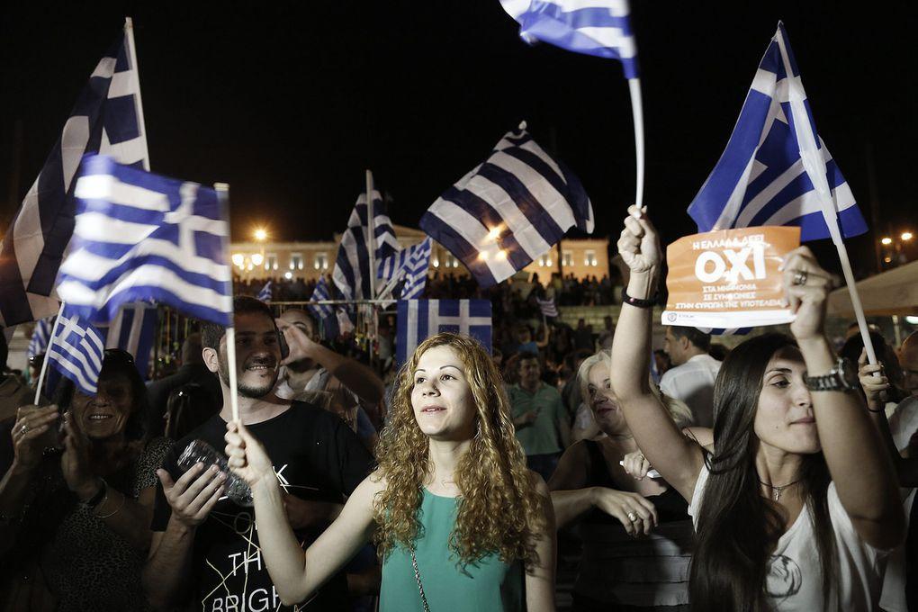 « Aujourd'hui en Grèce la démocratie l'a emporté »