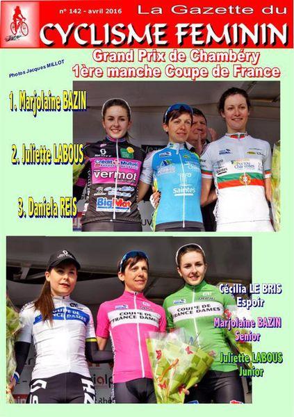 La Gazette du Cyclisme Féminin N°142
