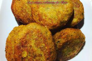 Felfels indiens ou beignets aux lentilles corail (massala vadai)