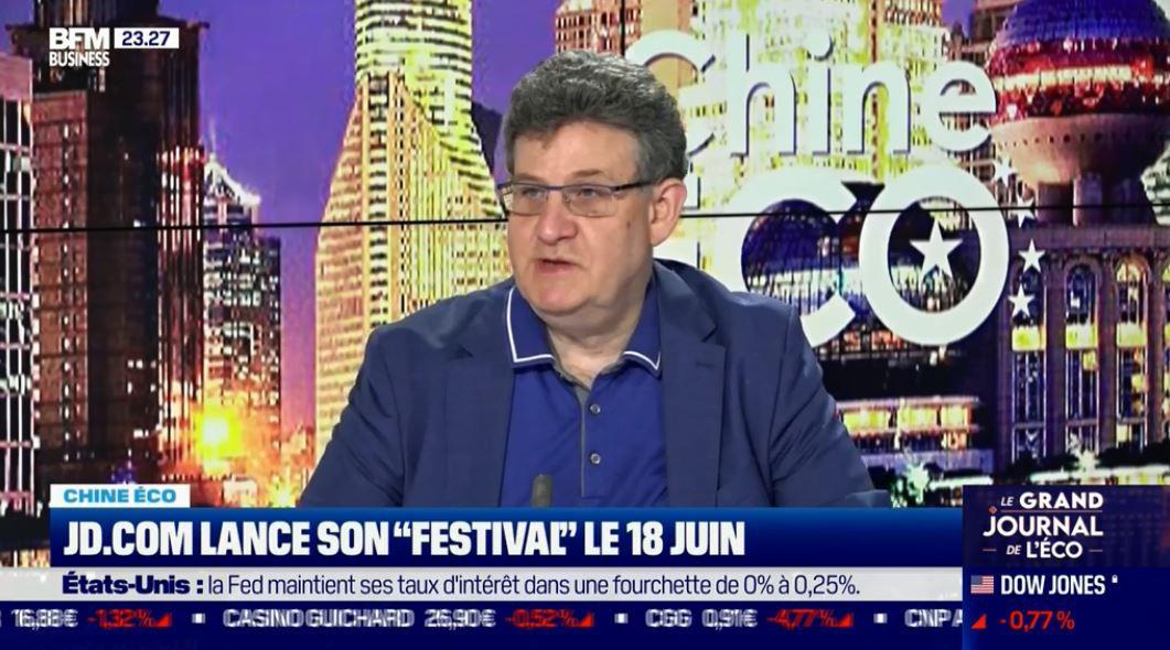 Dans les médias (248) : BFM Business : Chine Eco : Le festival de JD.com ce 18 juin