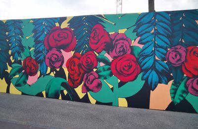 Nouvelle fresque à Asnières-sur-Seine